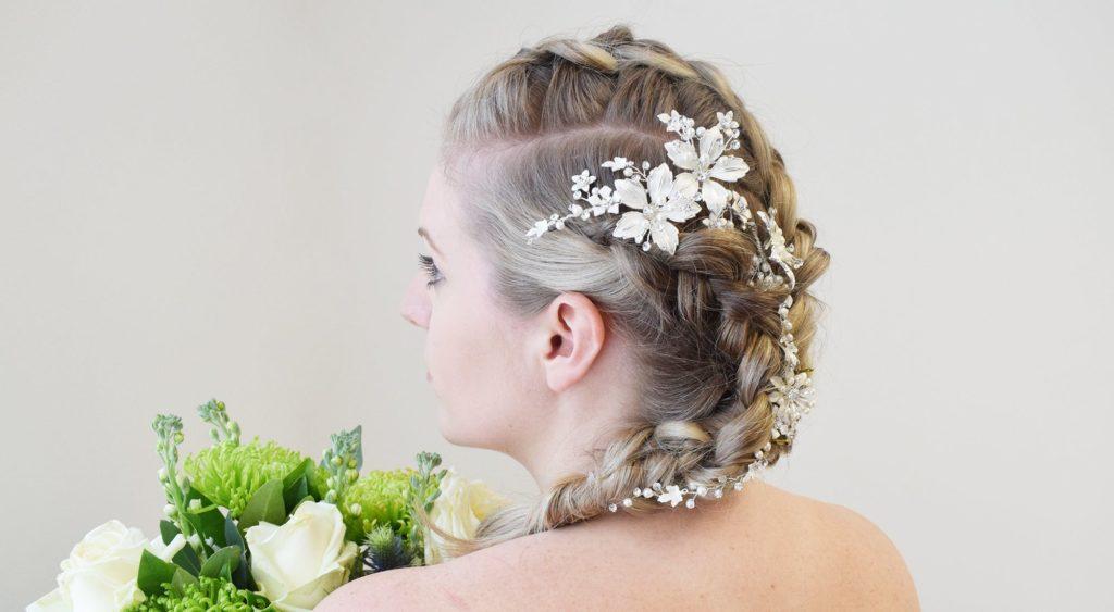 düğün saç modeli 1