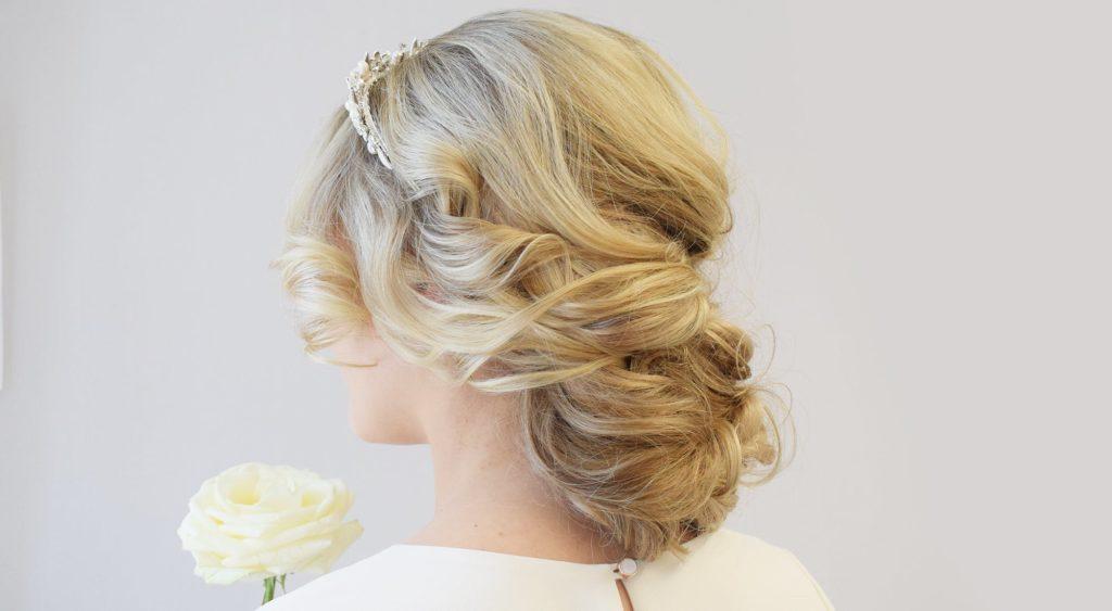 düğün saç modeli 4