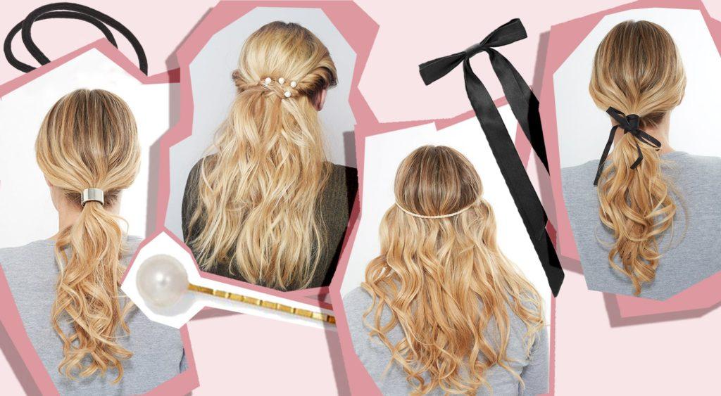 saç aksesuarlarından ilham alın
