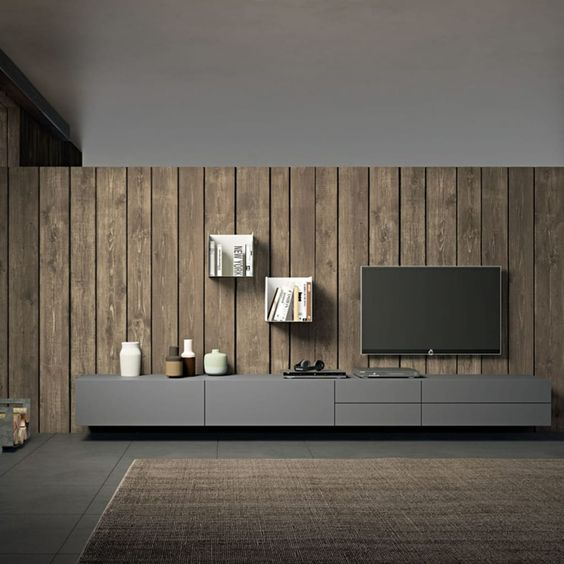 Dekoratif Tv duvar ünitesi 11