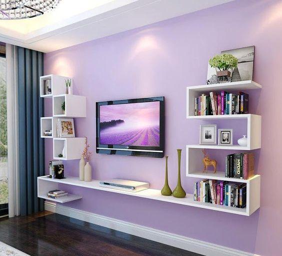 Dekoratif Tv duvar ünitesi 2 1