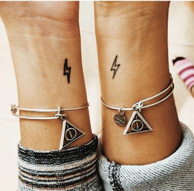 En İyi Arkadaşınızla İstediğiniz Yaratıcı Dövmeler 14