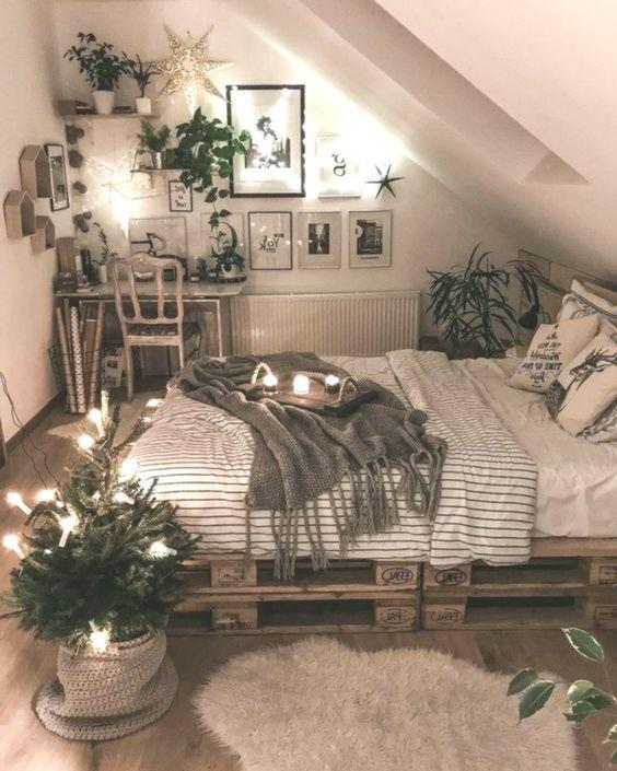Küçük Yatak Odası Dekorasyon Fikirleri 11