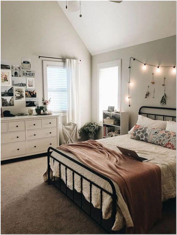 Küçük Yatak Odası Dekorasyon Fikirleri 14