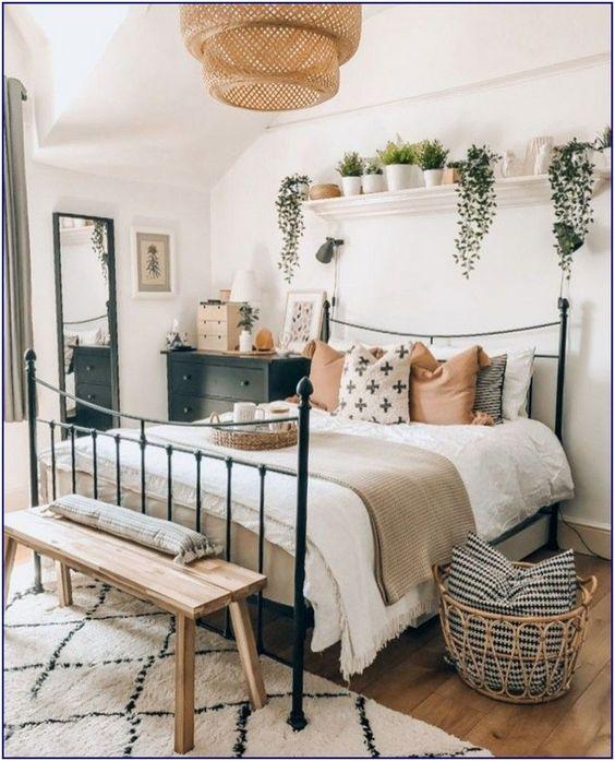 Küçük Yatak Odası Dekorasyon Fikirleri 16