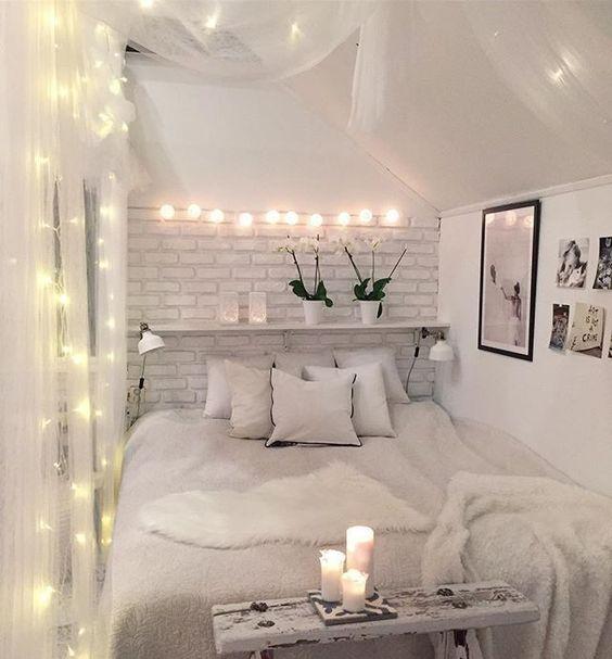 Küçük Yatak Odası Dekorasyon Fikirleri 21