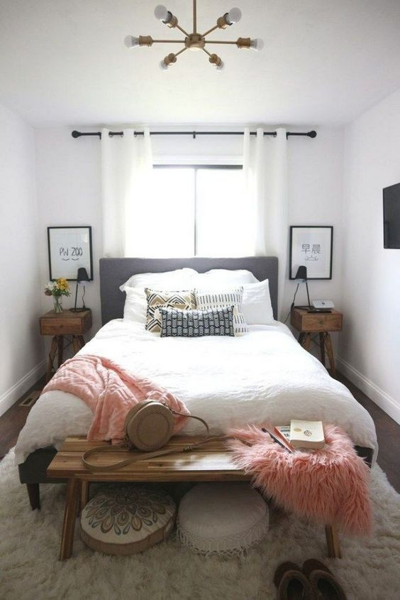 Küçük Yatak Odası Dekorasyon Fikirleri 22