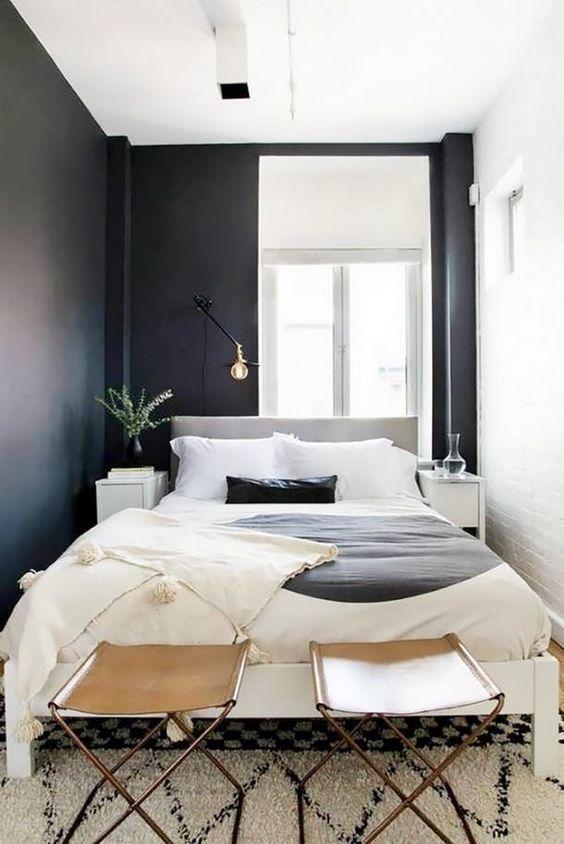 Küçük Yatak Odası Dekorasyon Fikirleri 23