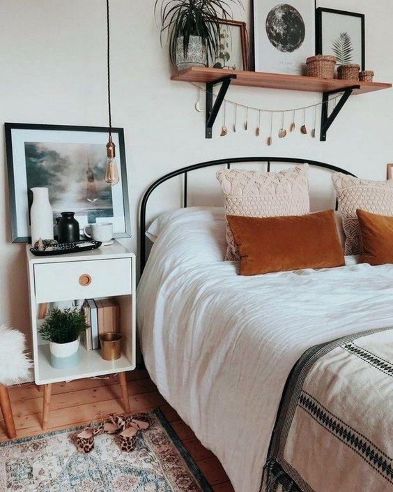 Küçük Yatak Odası Dekorasyon Fikirleri 24