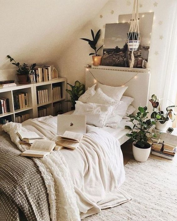 Küçük Yatak Odası Dekorasyon Fikirleri 26