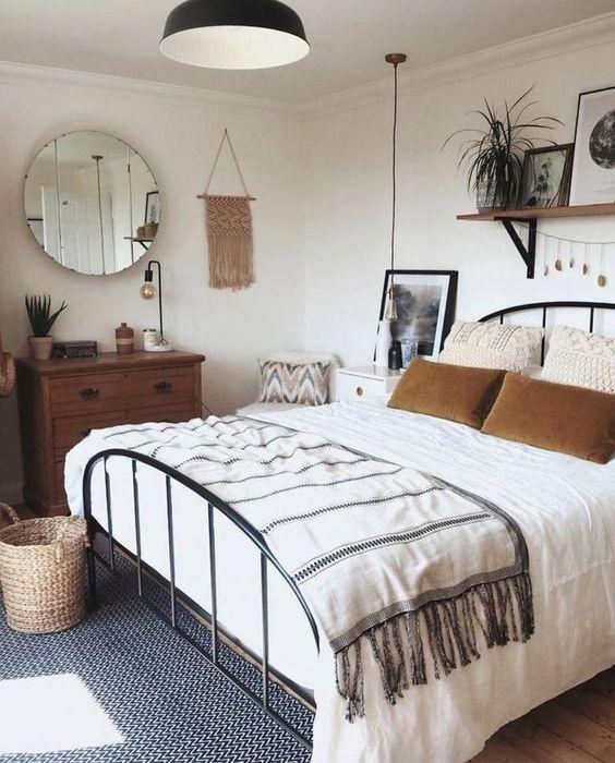 Küçük Yatak Odası Dekorasyon Fikirleri 29