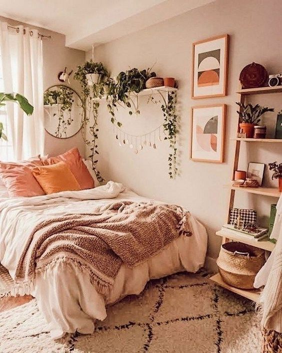 Küçük Yatak Odası Dekorasyon Fikirleri 3
