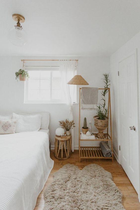 Küçük Yatak Odası Dekorasyon Fikirleri 31