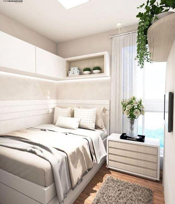 Küçük Yatak Odası Dekorasyon Fikirleri 5