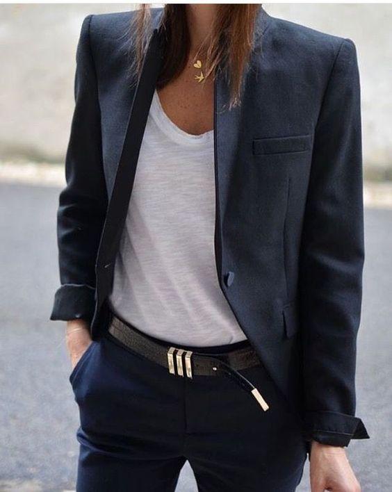Stil İpuçları Siyah Blazer Ceket 1