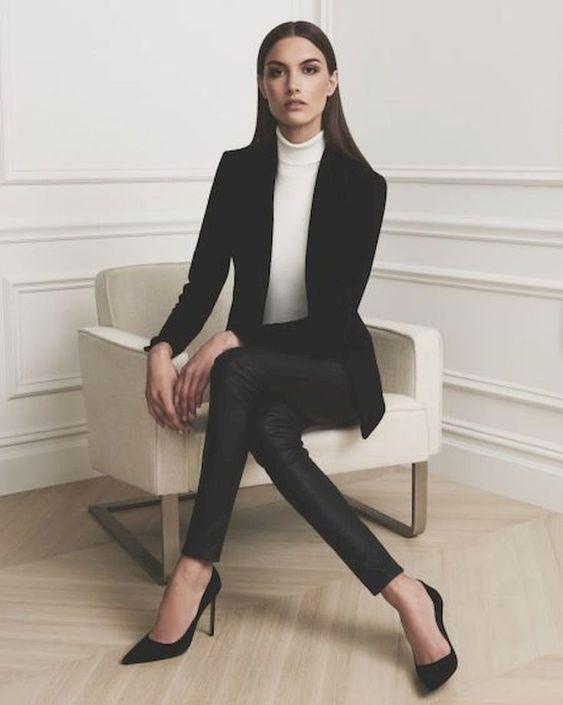 Stil İpuçları Siyah Blazer Ceket 10