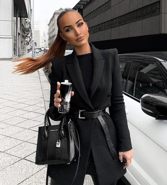 Stil İpuçları Siyah Blazer Ceket 11