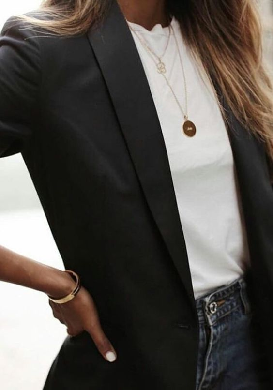 Stil İpuçları Siyah Blazer Ceket 14