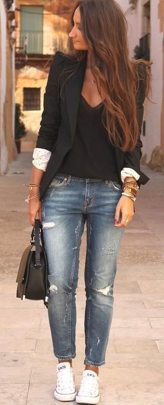 Stil İpuçları Siyah Blazer Ceket 5