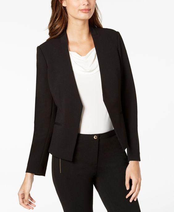 Stil İpuçları Siyah Blazer Ceket 6
