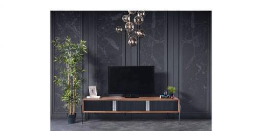 Tv Ünitesi Arkası Duvar Kağıdı modelleri 5