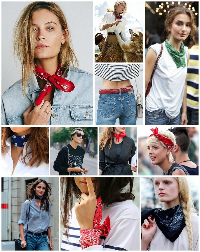 bandana modelleri 5