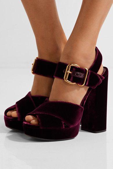 kadife topuklu ayakkabı 14