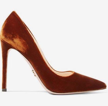 kadife topuklu ayakkabı 4