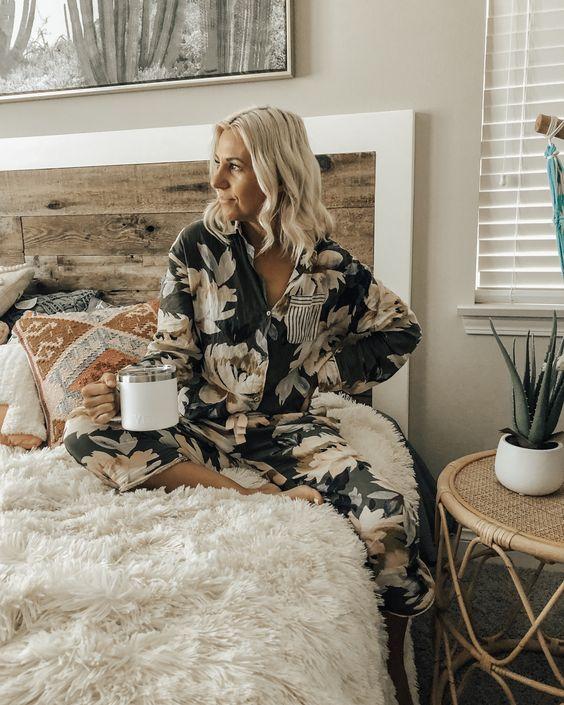 lkbahar ve Yaz için Rahat ve Şık Pijama modelleri 21