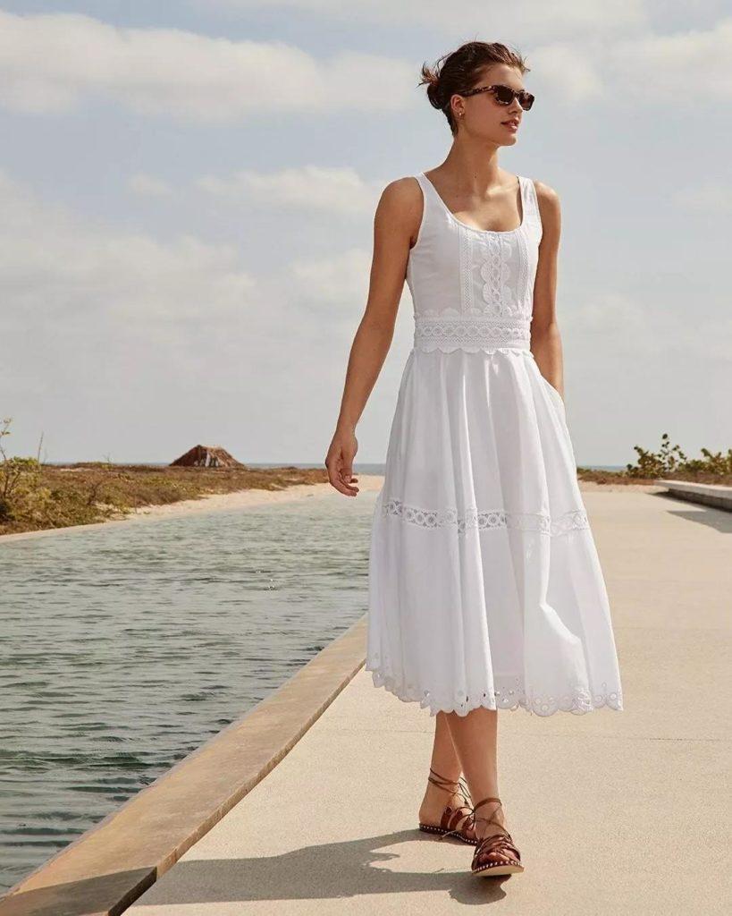 18 Adet Beyaz Elbiseler modelleri 1