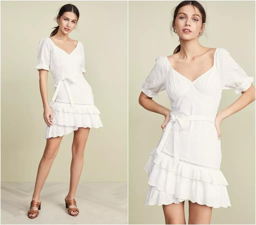 18 Adet Beyaz Elbiseler modelleri 19