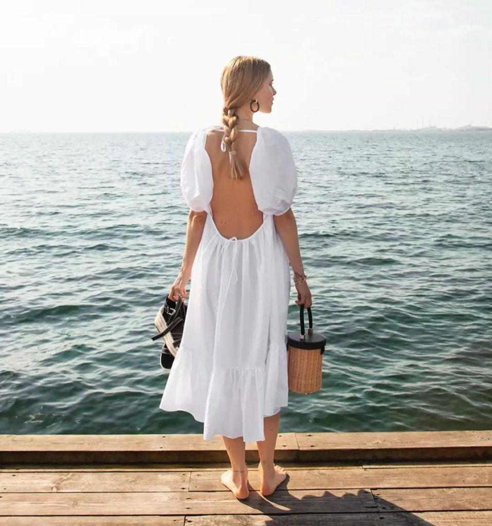 18 Adet Beyaz Elbiseler modelleri 5