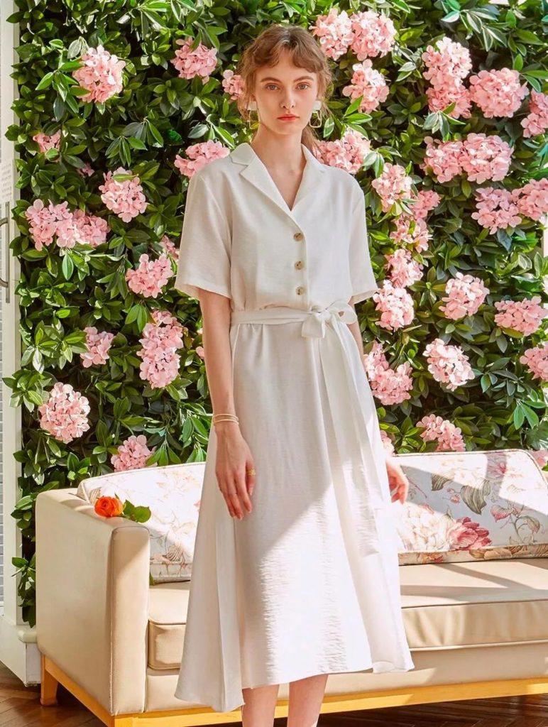 18 Adet Beyaz Elbiseler modelleri 7