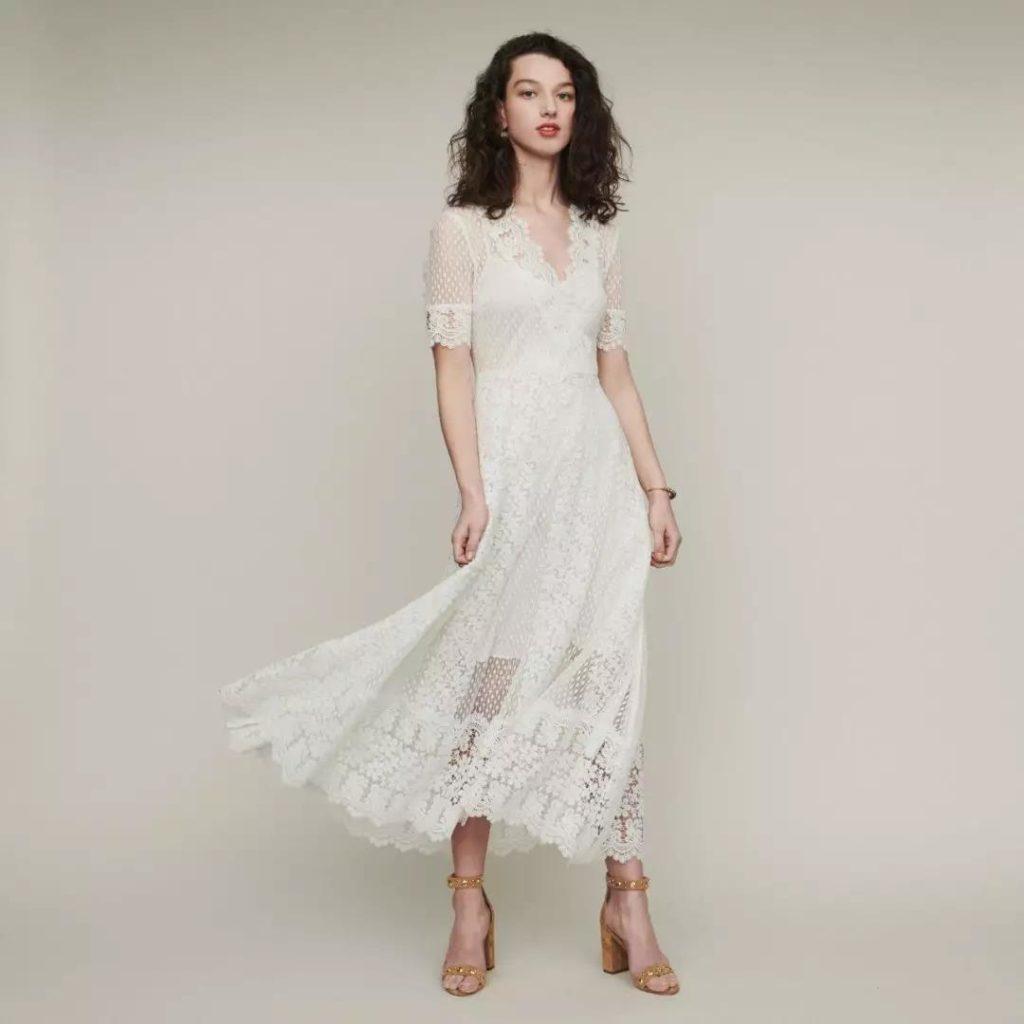 18 Adet Beyaz Elbiseler modelleri 9