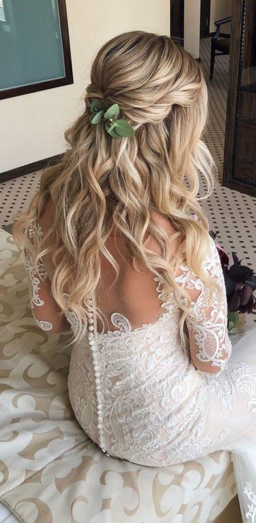 2019 2020 düğün saç modelleri 12