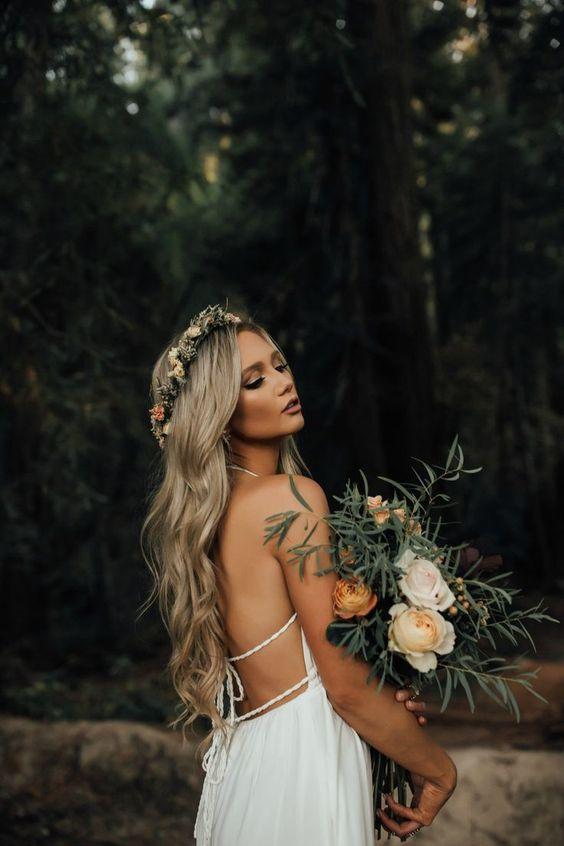 2019 2020 düğün saç modelleri 13