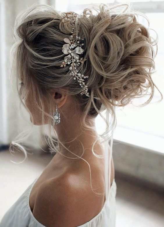 2019 2020 düğün saç modelleri 4