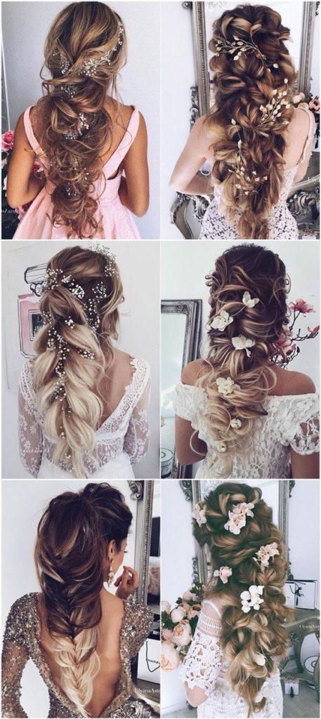 2019 2020 düğün saç modelleri