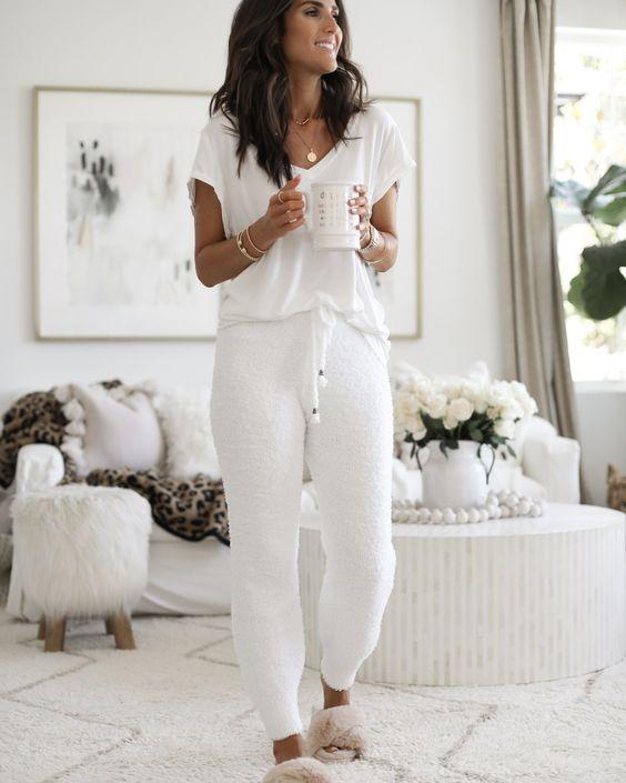 2020 için 26 Rahat ve Sevimli Ev Giyimleri 23