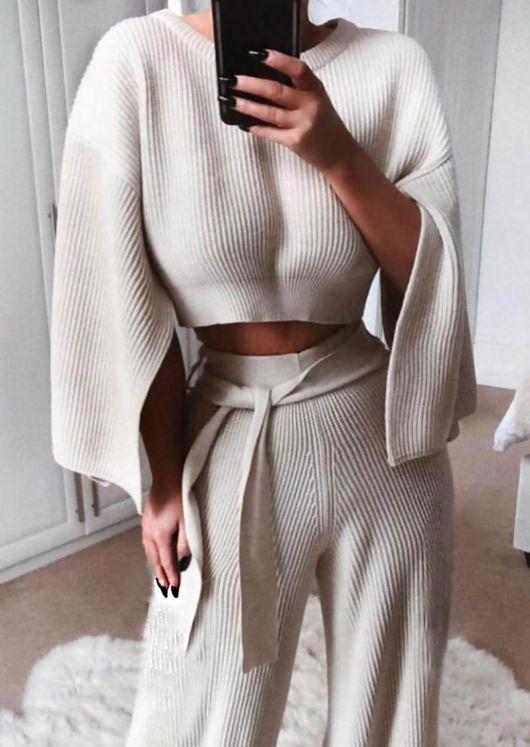 2020 için 26 Rahat ve Sevimli Ev Giyimleri 3