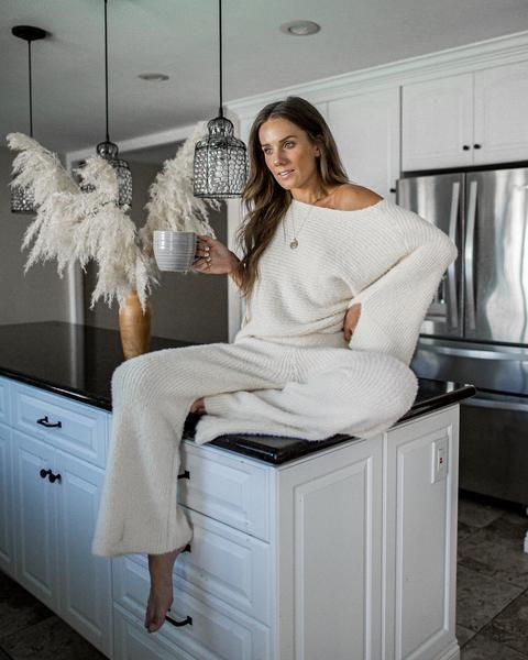 2020 için 26 Rahat ve Sevimli Ev Giyimleri 8