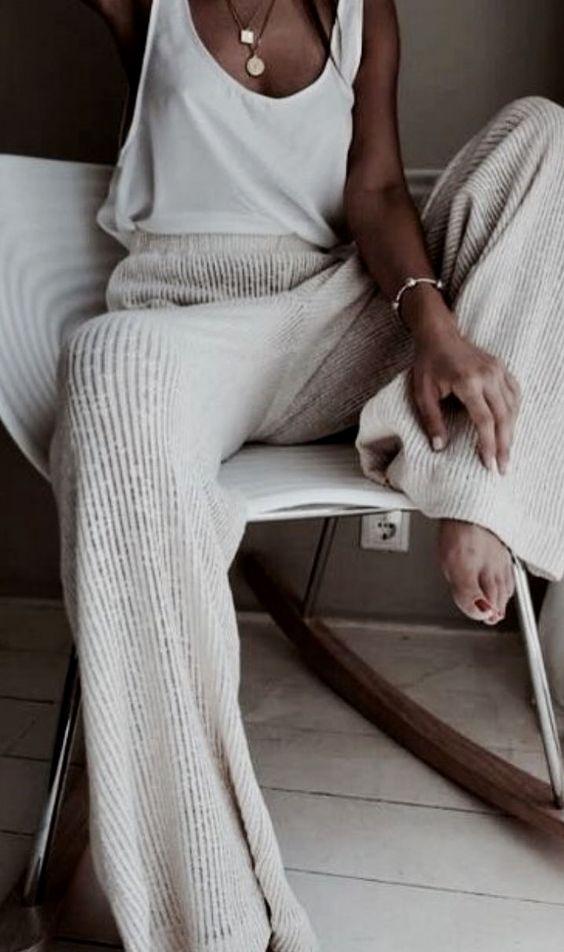 2020 için 26 Rahat ve Sevimli Ev Giyimleri 9