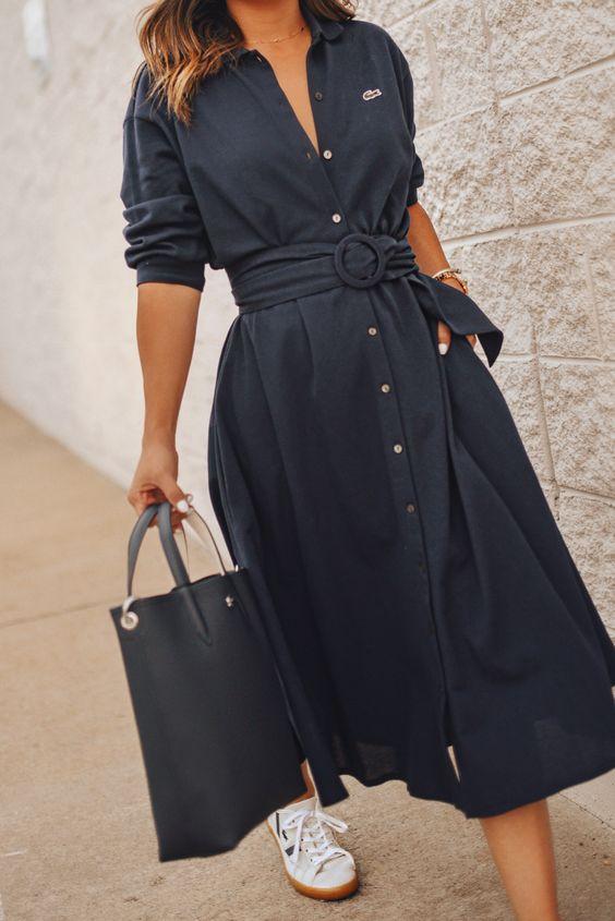 2020 için 28 İnanılmaz Çarpıcı Gömlek Elbise Fikirleri 26