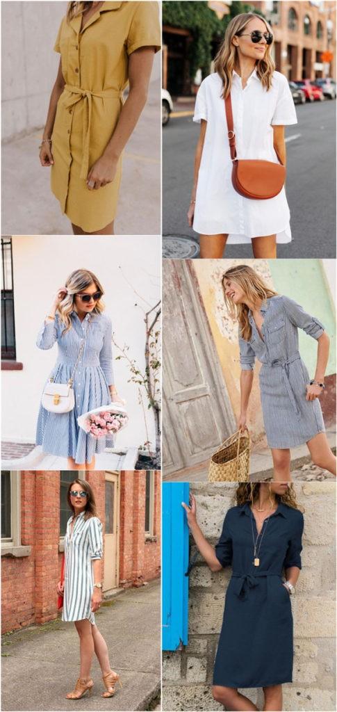 2020 için 28 İnanılmaz Çarpıcı Gömlek Elbise Fikirleri 5