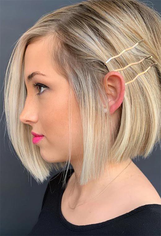 24 Şık Sarışın Saç Modelleri 17
