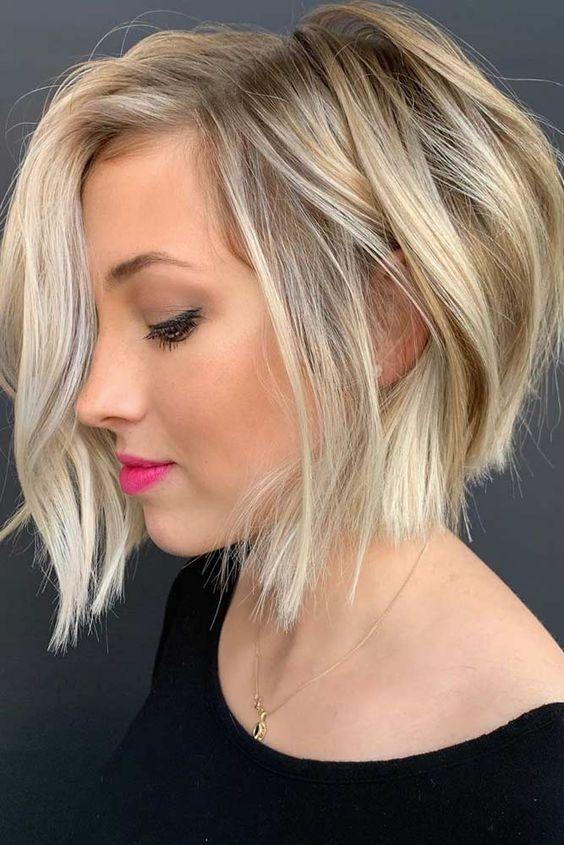 24 Şık Sarışın Saç Modelleri 18