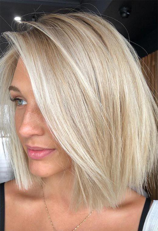 24 Şık Sarışın Saç Modelleri 19