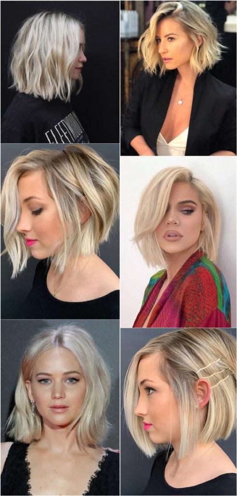 24 Şık Sarışın Saç Modelleri 8