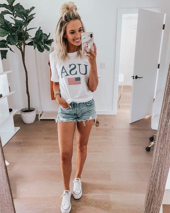 26 Amerikan tarzı Kızlar için Kıyafet Fikirleri 1