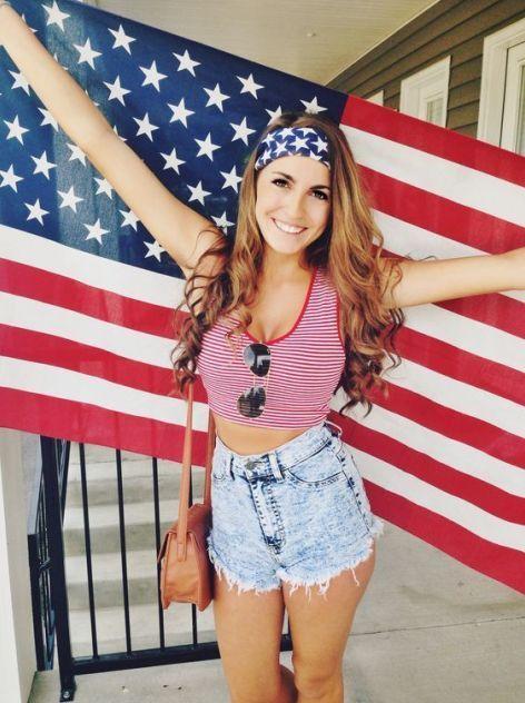 26 Amerikan tarzı Kızlar için Kıyafet Fikirleri 10